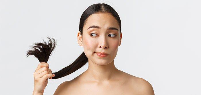 vitaminas para el cabello dañado